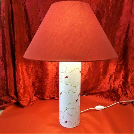 Grande lampe cylindre