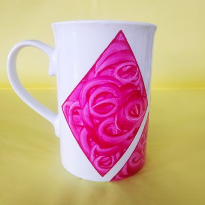 Verso mug anglais en porcelaine